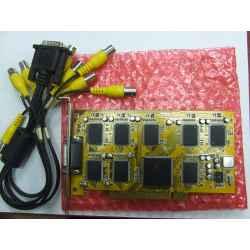 TARJETA VIGILANCIA CCTV PCI 8C 80100C