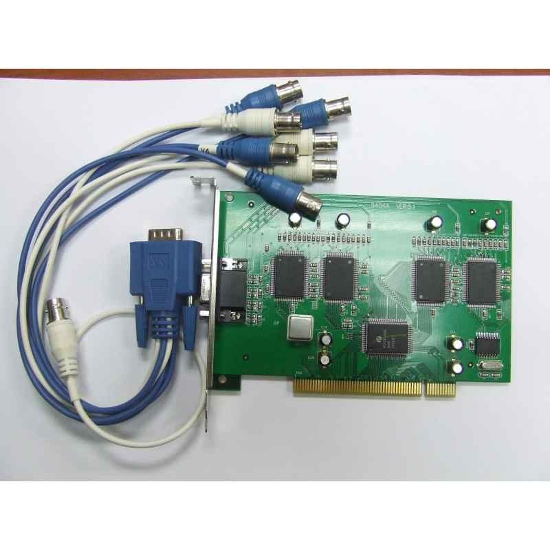 TARJETA VIDEOVIGILANCIA CCTV PCI 4C VIDEO 4C AUDIO