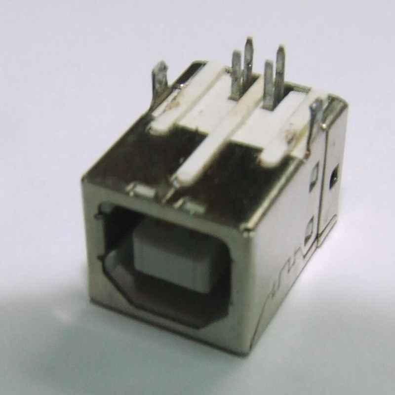 CONECTOR USB BF PARA SOLDAR PCB HORIZONTAL USADO