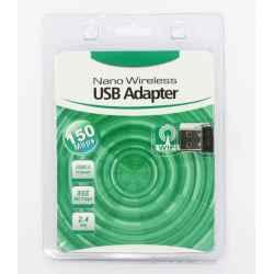 ADAPTADOR NANO USB2.0 WIFI 150MB MT7601U