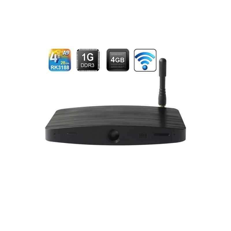 ANDROID TV MEASY B4C RK3188 QUAD CORE WEBCAM 1GB