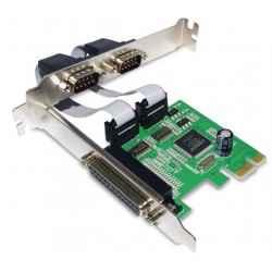 TARJETA PCIE 1P PARALELO 2P SERIE RS232 PCI-E