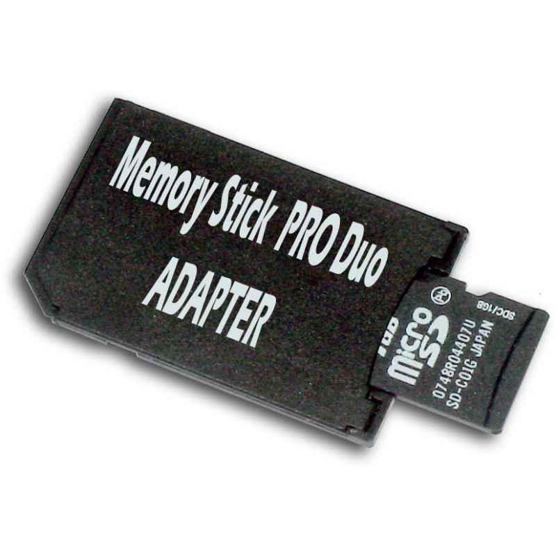 ADAPTADOR MICROSD A MEMORY STICK PRO DUO - DELUXE