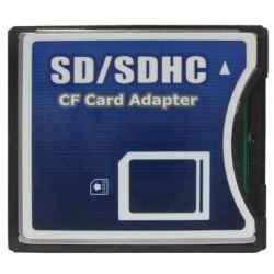 ADAPTADOR SD A COMPACT-FLASH TIPO II 5mm grosor