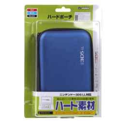 FUNDA DS XL SEMI-RIGIDA AZUL (XL/3DS/DSI/DSL/DS)