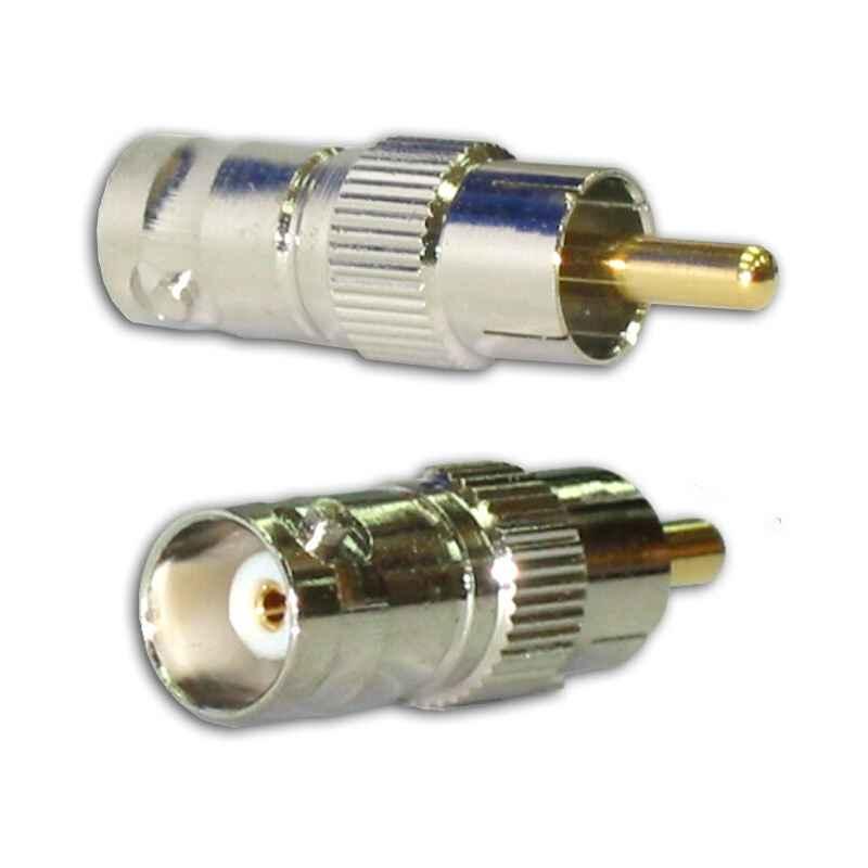CONECTOR ADAPTADOR BNC-H a RCA-M