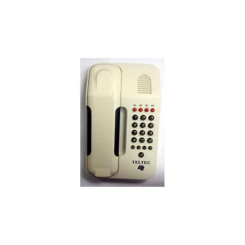 TELEFONO FIJO SOBREMESA CONCORDE BLANCO MARFIL