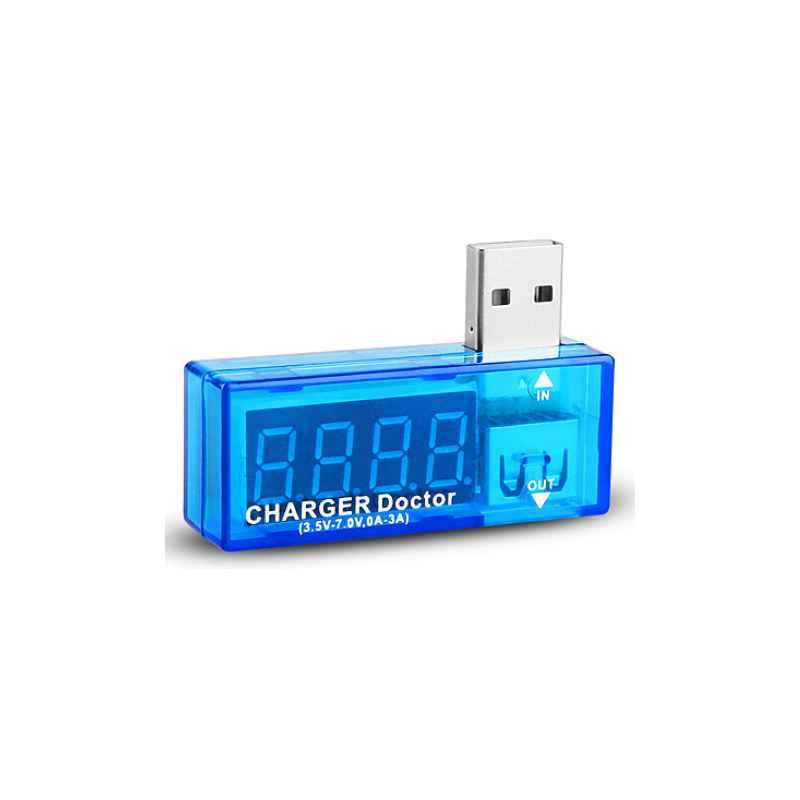 COMPROBADOR MEDIDOR DE CORRIENTE Y VOLTAJE USB