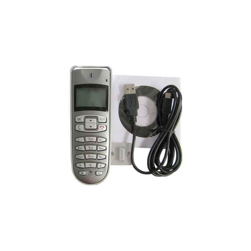 TELEFONO USB CON LCD PARA SKYPE