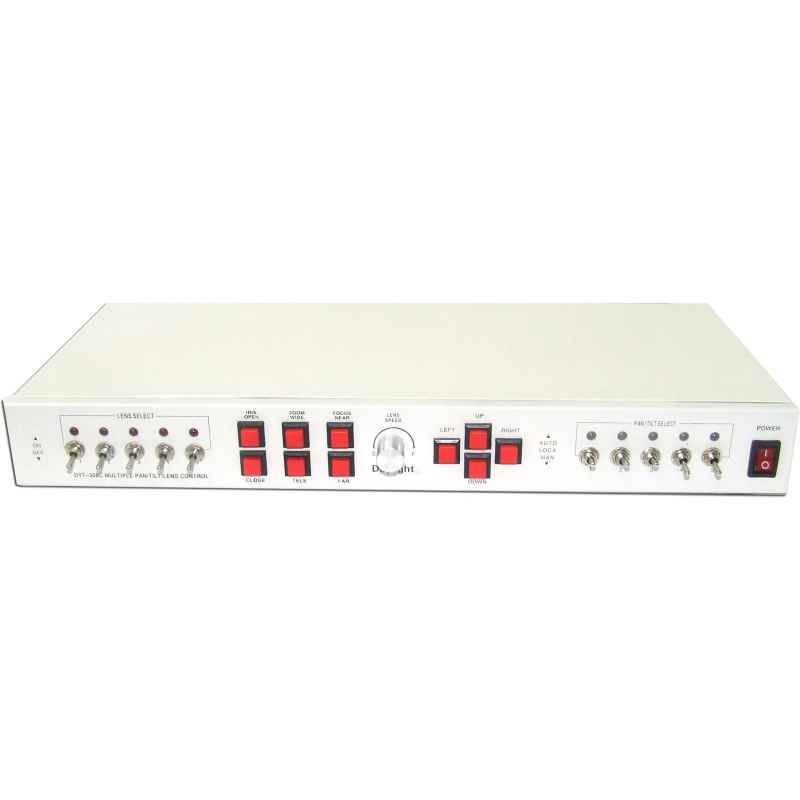 CONTROLADOR PTZ PAN/TILT/LEN 5 CAMARAS MANUAL 308C
