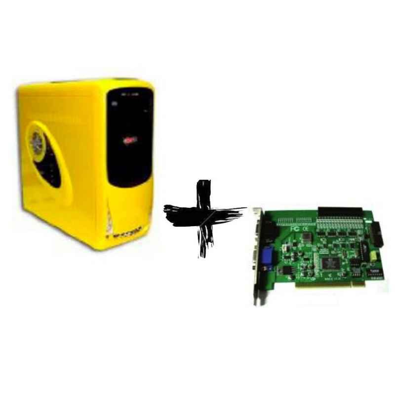 PC VIDEOVIGILANCIA 16 CAMARAS AMD 2GB 160GB P16125