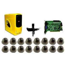 PC VIDEOVIGILANCIA 16 CAMARAS P16125 + 16 CAM DOMO