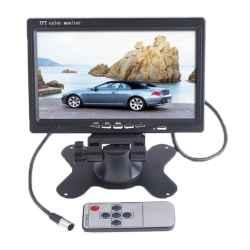 """MONITOR VIDEOVIGILANCIA CCTV 7"""" CASA O COCHE 2CH."""