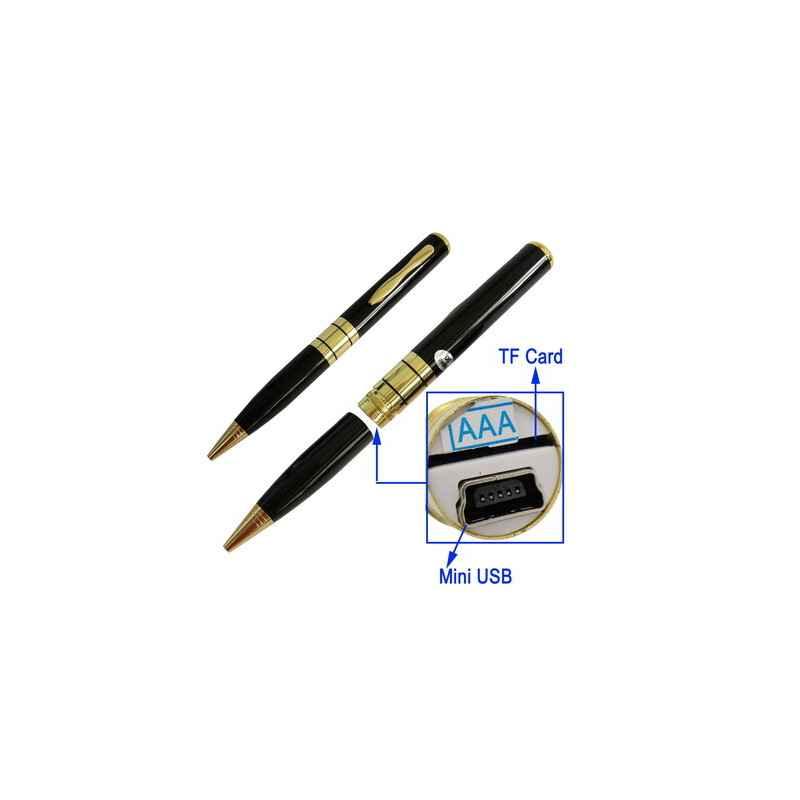 BOLIGRAFO USB CAMARA VIDEO ESPIA 1.3MPIX MICROSD