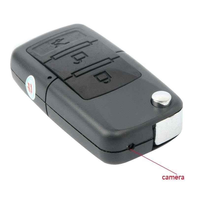 LLAVE COCHE USB CAMARA VIDEO ESPIA MICROSD + 8GB