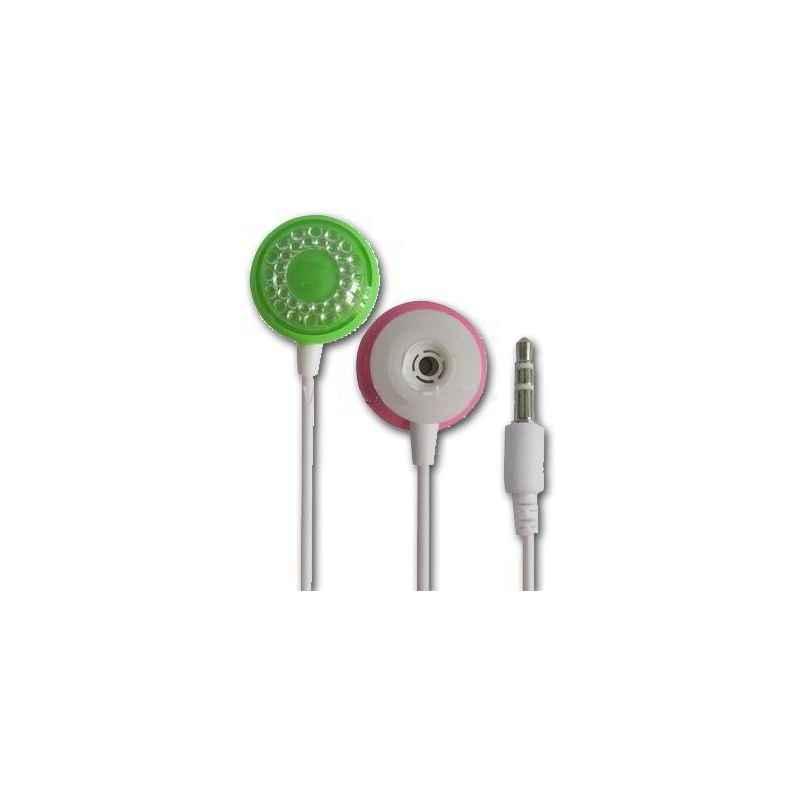 AURICULARES MP3/MP4 BICOLOR