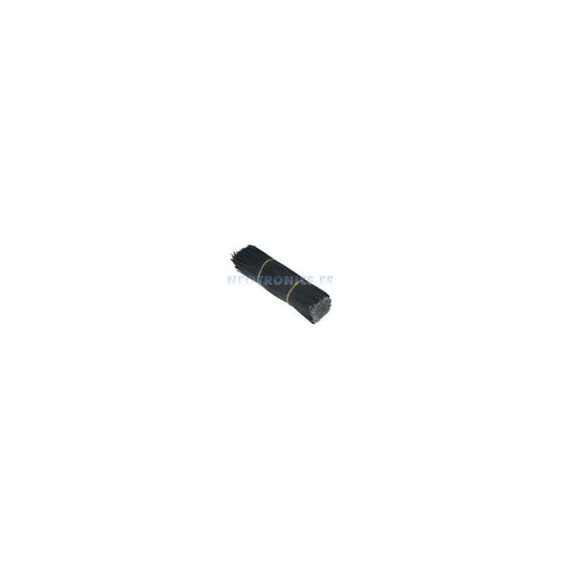 CABLE 150MM PAQUETE 500 UDS NEGRO