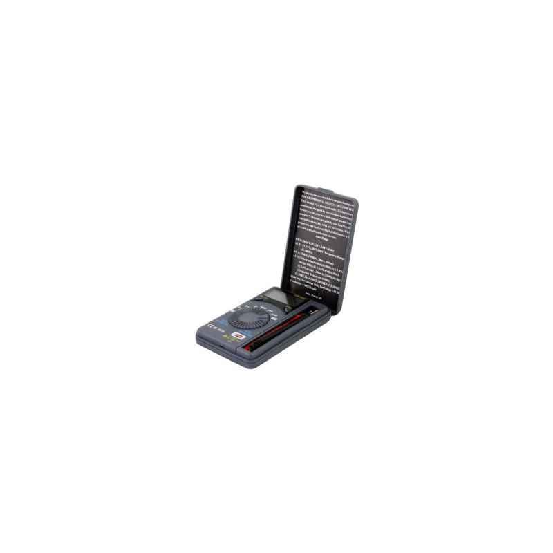 MULTIMETRO DIGITAL SATYCON Volt/Ohm/Amp SAT-XB866