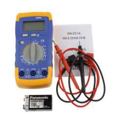 MULTIMETRO DIGITAL SATYCON Volt/Ohm/Amp 830L