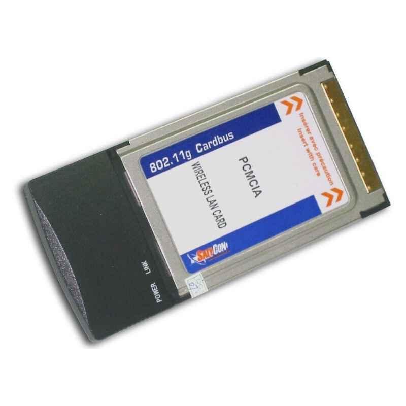 ADAPTADOR PCMCIA 54 MBPS WIFI SATYCON