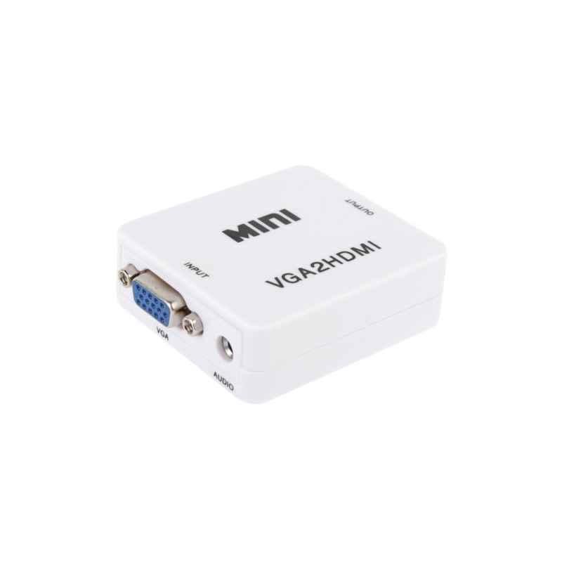 ADAPTADOR VGA+AUDIO A HDMI VGA2HDMI FULLHD 1080P