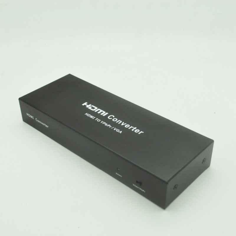 ADAPTADOR CONVERSOR HDMI A VGA+AUDIO+YPbPr+SPDIF