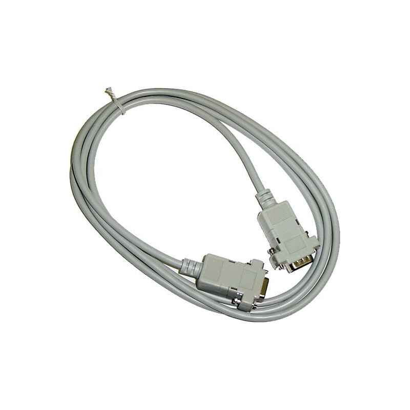 CABLE SERIE NULL MODEM 9 PINES M/H 10 METROS