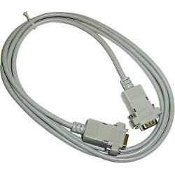 CABLE SERIE NULL MODEM 9 PINES M/H 20 METROS