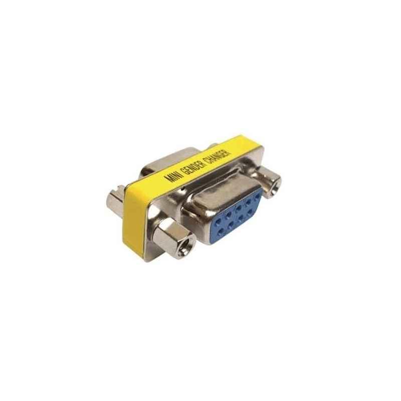 ADAPTADOR SERIE RS-232 HEMBRA-HEMBRA COMPACTO
