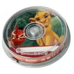 CD-R 52X VIRGEN DISNEY REY LEON 700MB TARRINA 10U