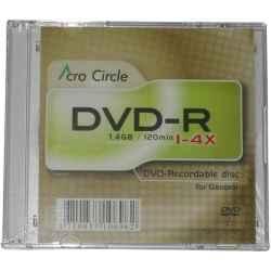 MINI DVD-R 4X ACROCIRCLE 8CM CAJA PACK 40 UDS