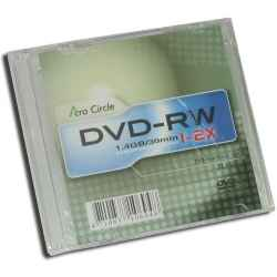 MINI DVD-RW 2X ACROCIRCLE 8CM CAJA