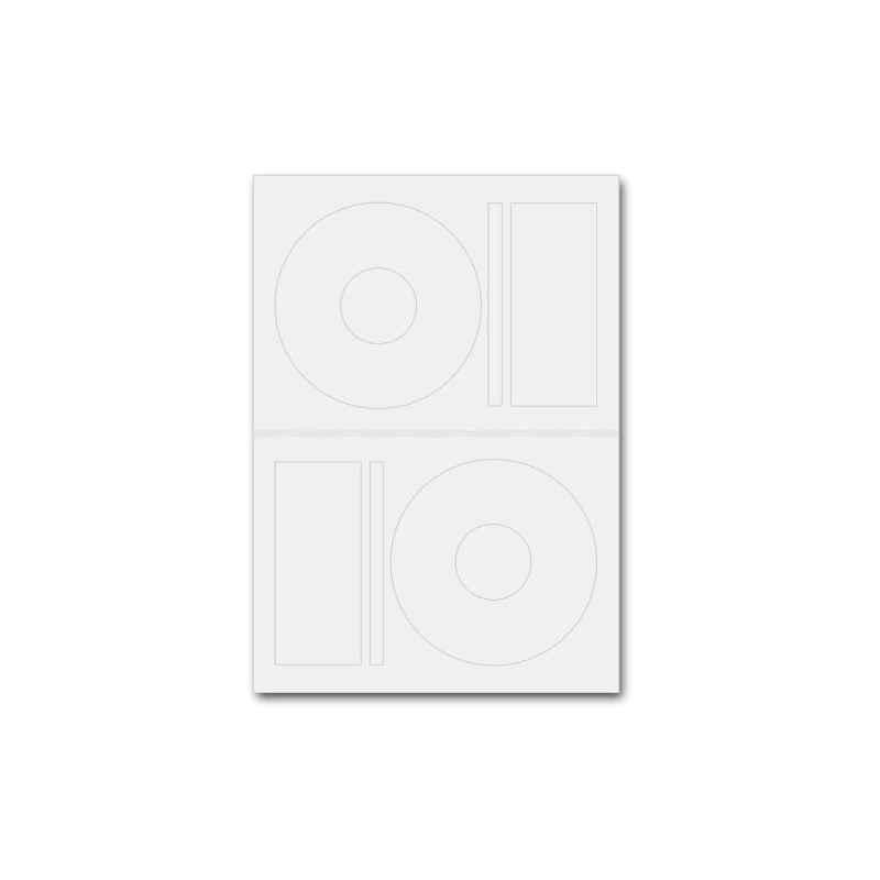 ETIQUETAS DE CDs/DVDs 50 UNIDADES