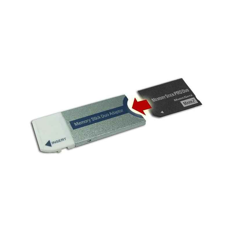 ADAPTADOR MS-PRO DUO A MEMORY STICK DUO