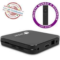 ANDROID TV BOX LEOTEC GCX2 UHD 4K QC 4GB 32GB A9