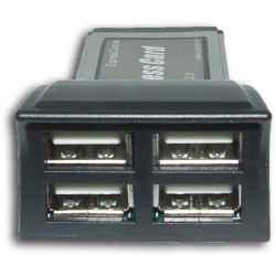 TARJETA EXPRESSCARD 4 PUERTOS USB2.0 SATYCON