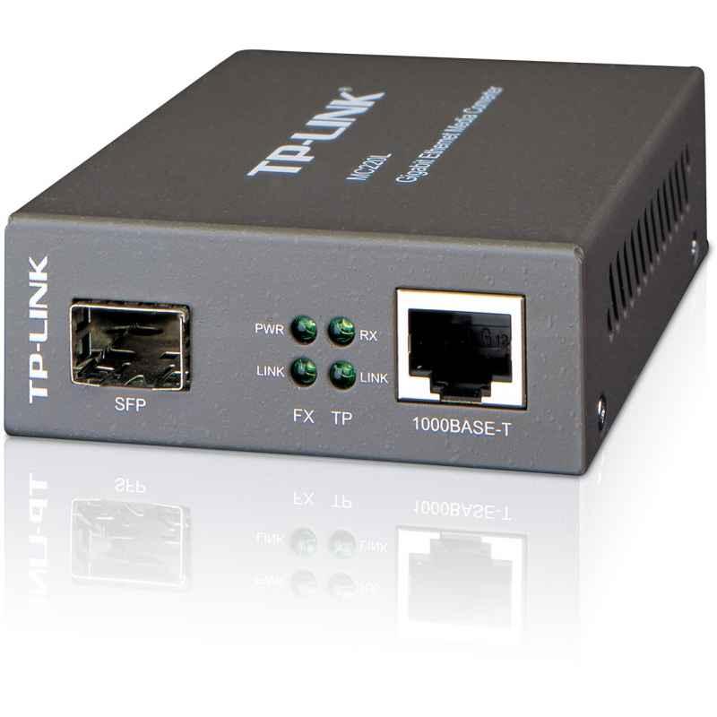 CONVERSOR DE MEDIOS TPLINK MC220L RJ45 A 1000M SF