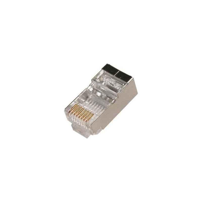 5X CONECTORES RJ45 FTP CAT5 MACHO UNIDAD