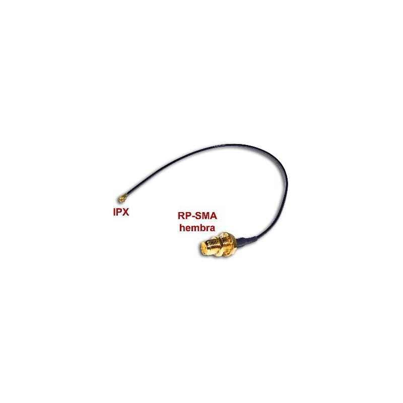 CABLE ADAPTADOR IPX A RP-SMA-HEMBRA