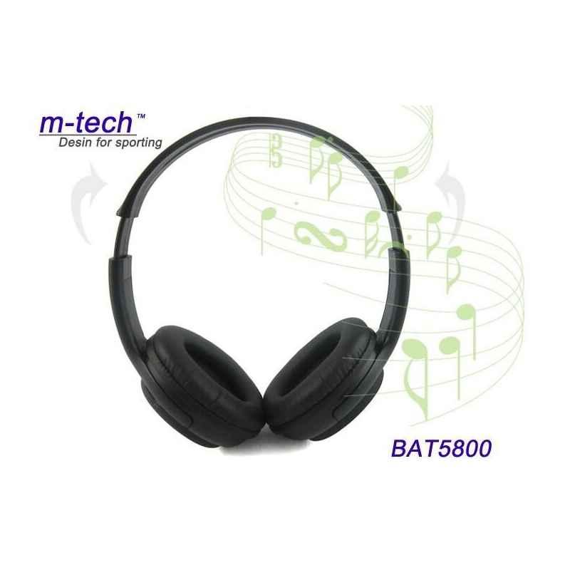 AURICULARES STEREO MP3 M.5800 MICROSD USB Y JACK