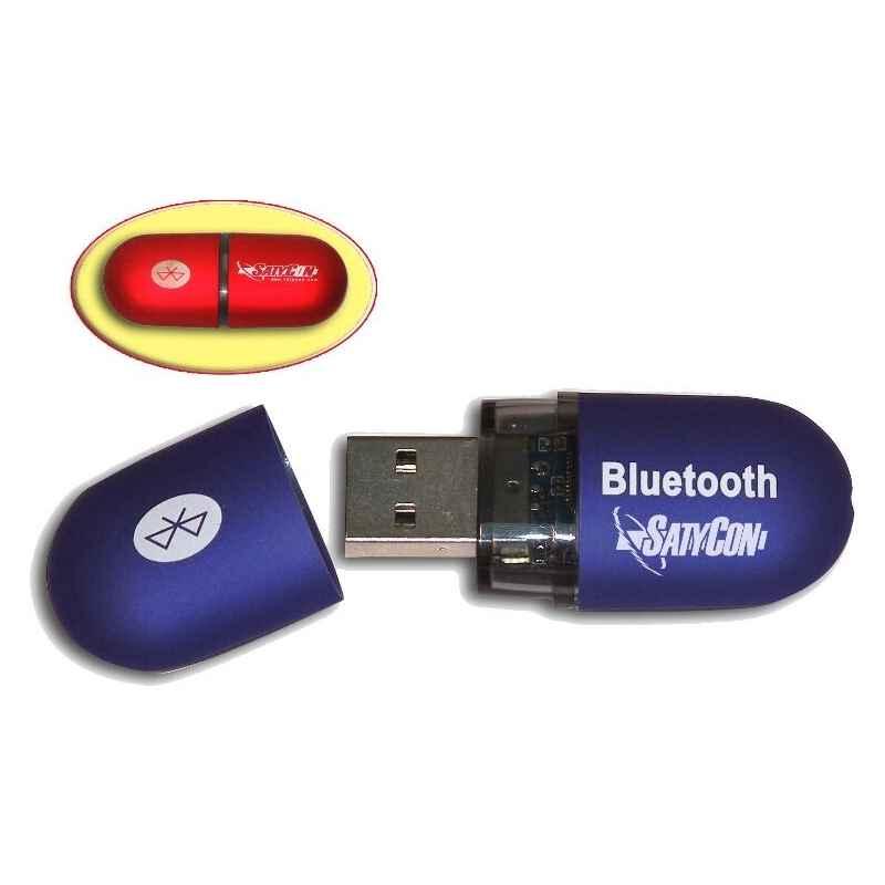ADAPTADOR USB A BLUETOOTH SATYCON AZUL