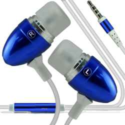 AURICULARES MANOS LIBRES ANDROID PS4 JACK AZUL